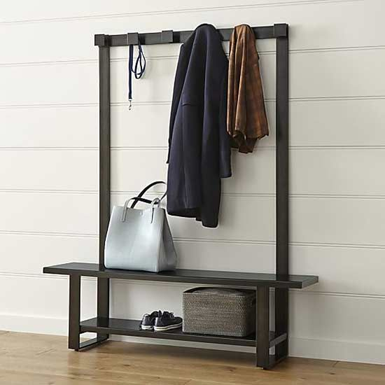 10 Ways To Organize And Declutter Like A Pro Entryway Bench Storage Coat Rack Bench Hall Tree Bench