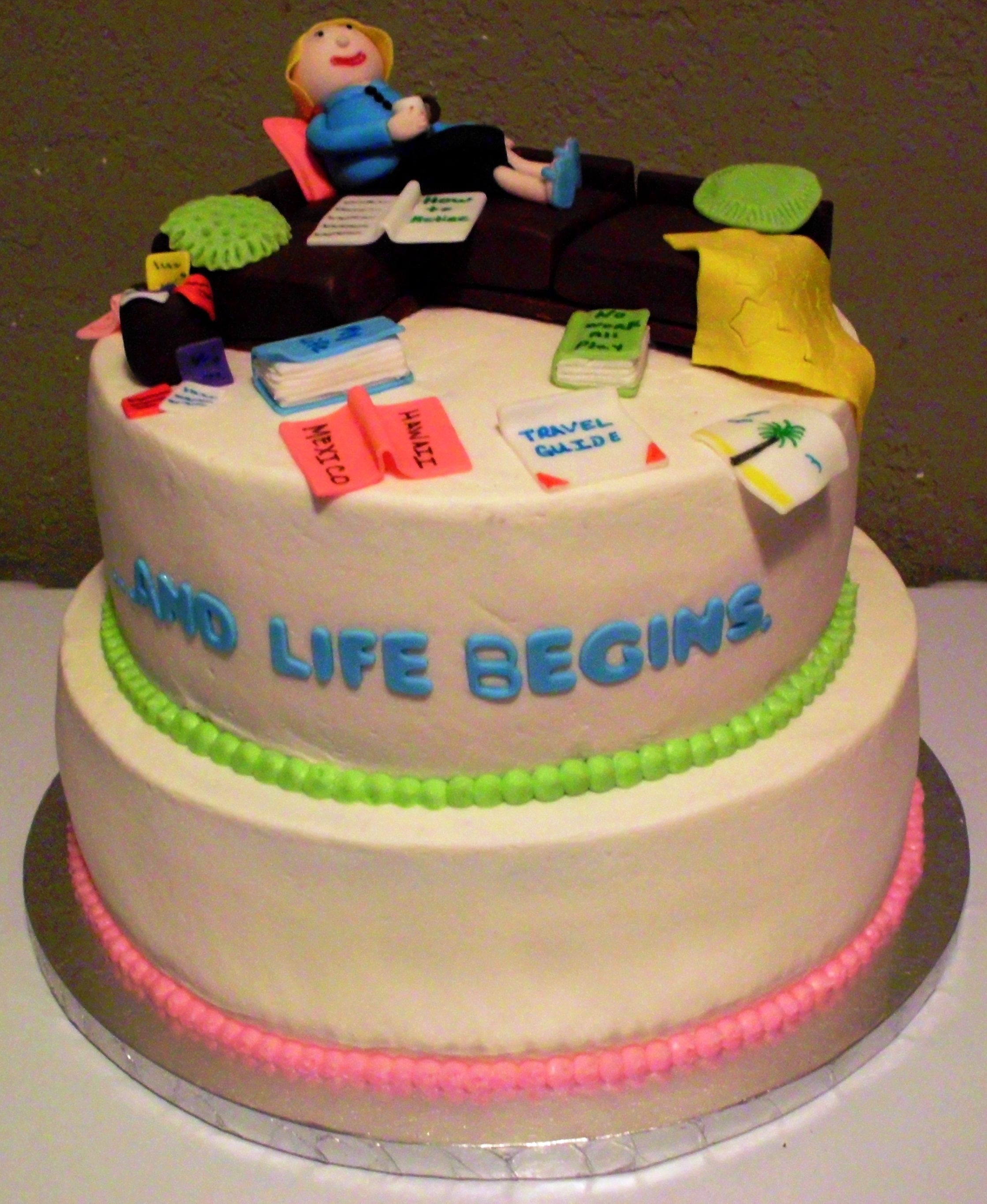 HAPPY RETIREMENT CAKE Cake ideas Pinterest ...