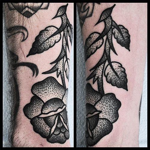 Tattooing By Mike Adams Tattoos Dot Work Tattoo Stippling Tattoo