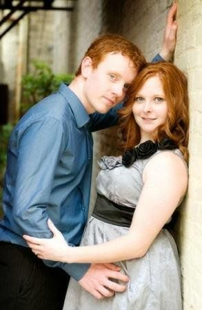 Redhead with husband pic images