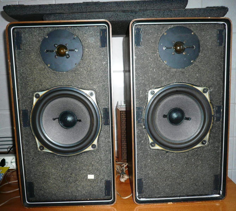 Casse acustiche grundig hifi box 506 m vintage anni 39 70 - Casse acustiche design ...