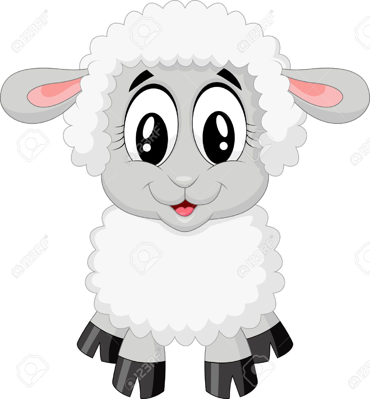 cute baby sheep cartoon - Pesquisa Google | Western party ... for cute animated sheep  26bof