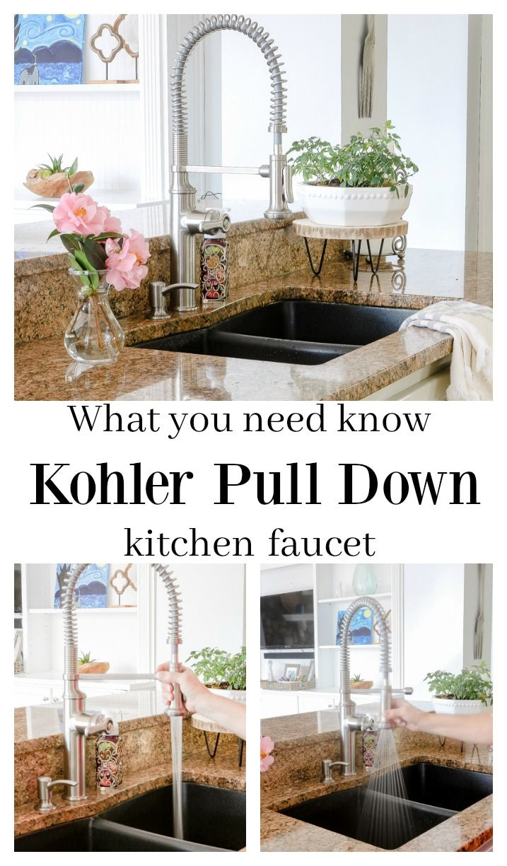 What You Need To Know About A Kohler Pull Down Faucet Bloggers