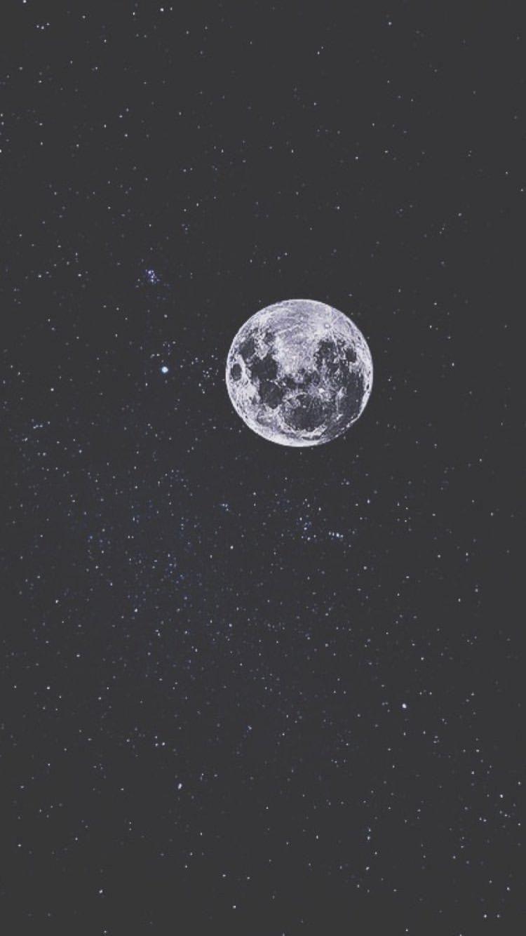 19 Aesthetic Moon Wallpaper 2k Beautiful Wallpaper Iphone Desain Bulan