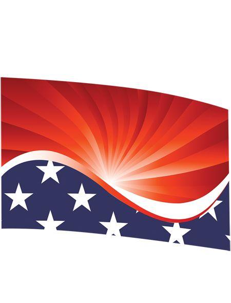 Fl7187 Printed Flag 36 X 56 Captain America Iii Prints Color Guard Flag