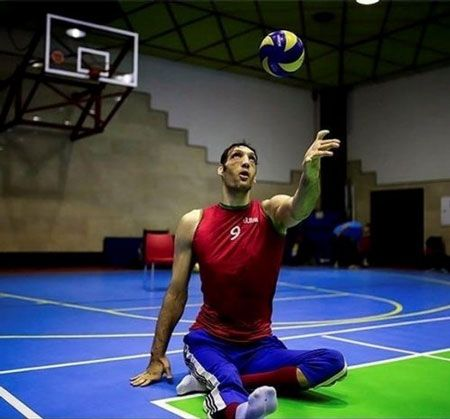 گفت و گویی با مرتضی مهرزاد جوان دو متر و 46 سانتی متری قهرمان