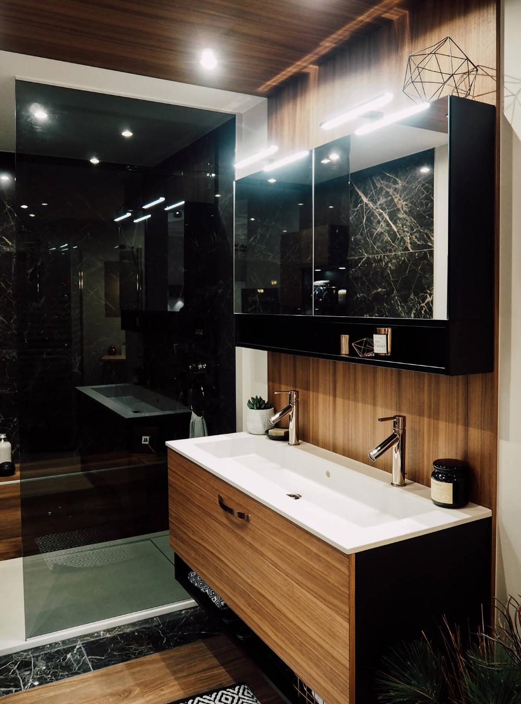 Mobalpa signe une salle de bain comme un écrin  Mobalpa salle de