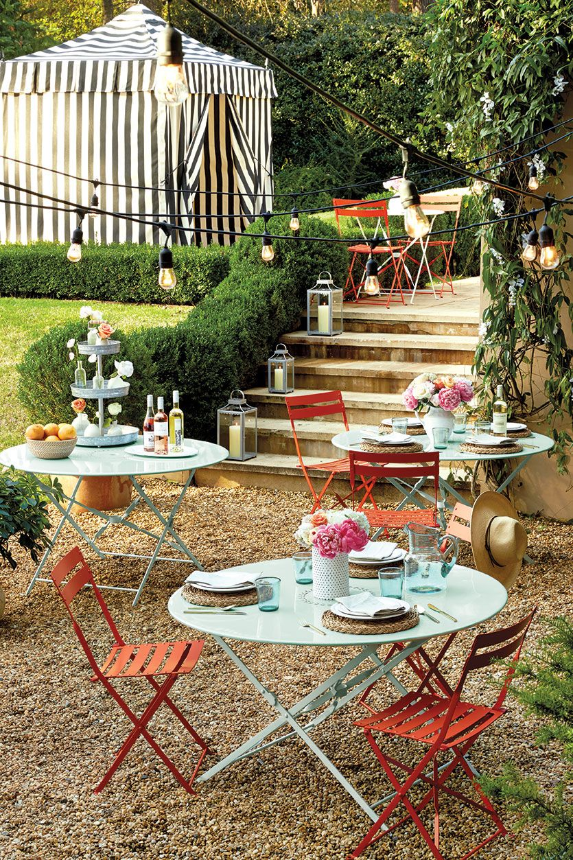 Inspiration For Our Spring 2016 Collection Outdoor Decor Backyard Cafe Backyard