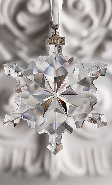 eceabba88 Swarovski Crystal Annual Edition Ornament, 2012 -- Have one for every year  we have been married :) One day they will decorate my whole tree...well one  of my ...