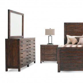 Lovely Java Storage Bedroom Set