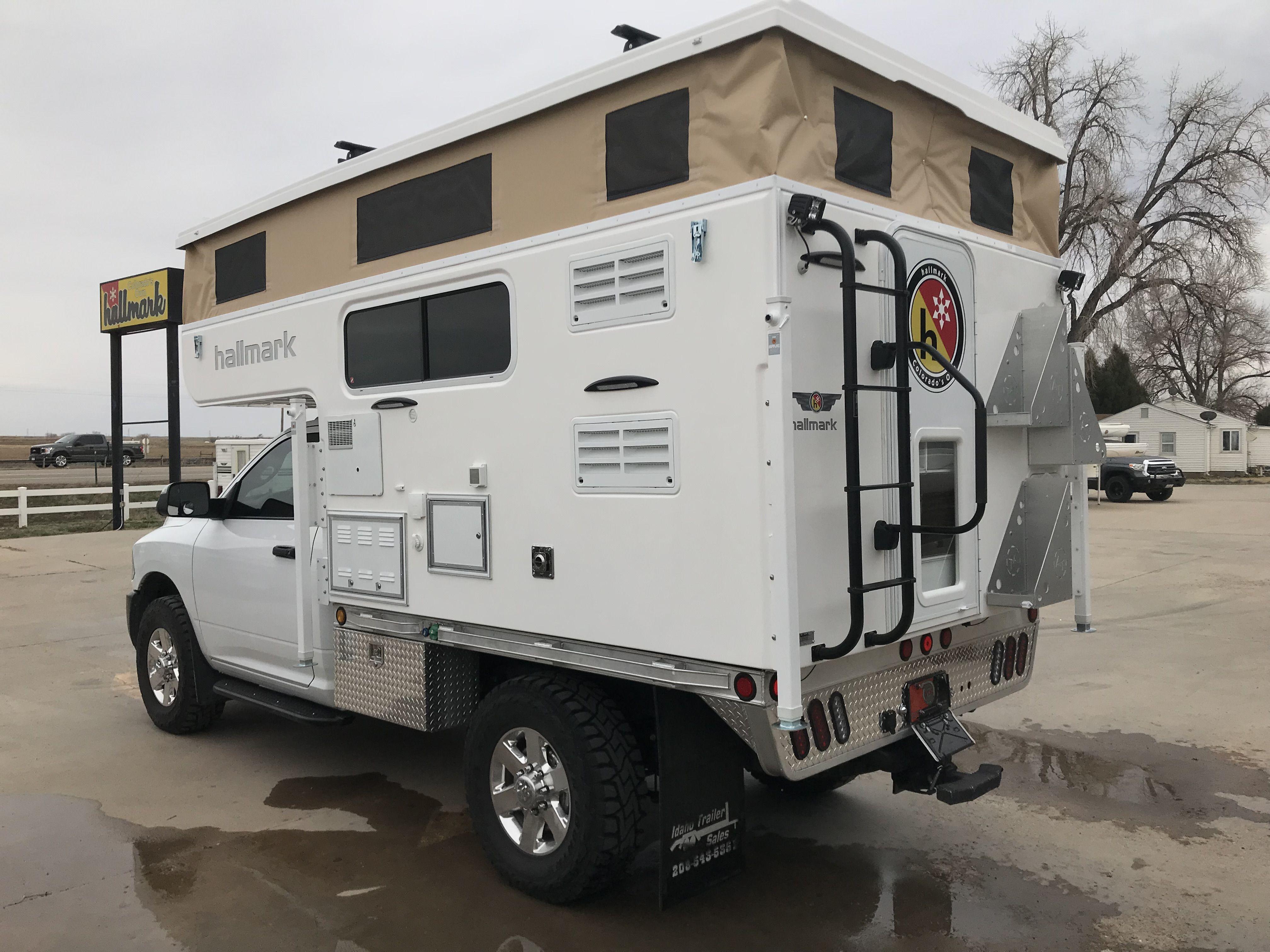 Tcm Exclusive 2018 Hallmark Nevada Flatbed Truck Campers Camper