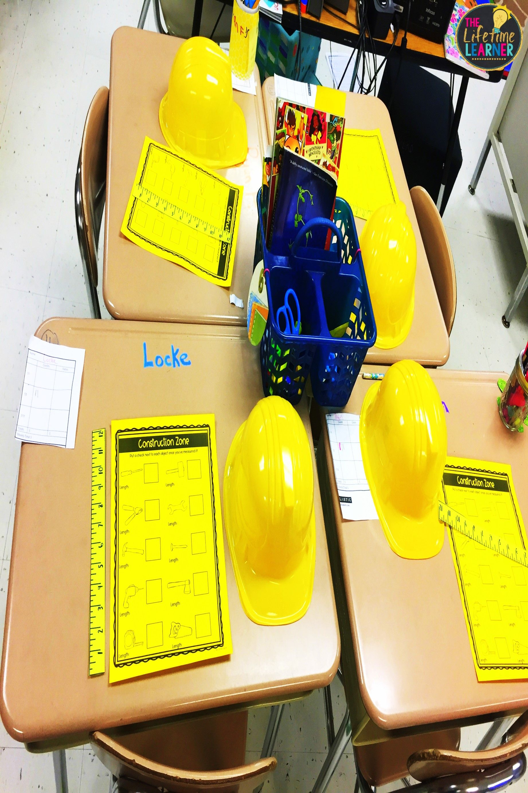 Construction Worker Classroom Transformation