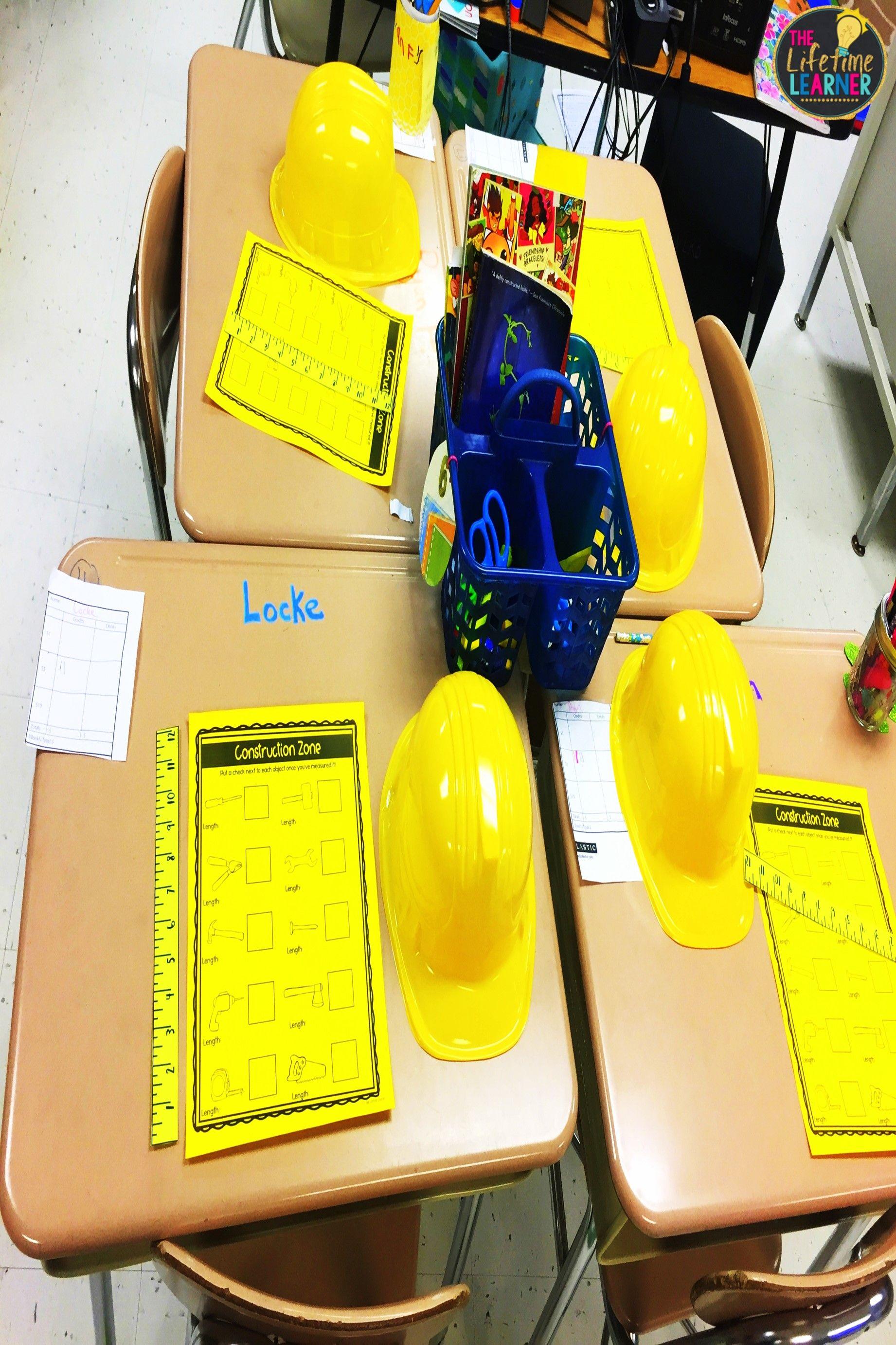 Construction Worker Classroom Transformation