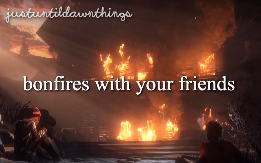 just until dawn things - Google Search