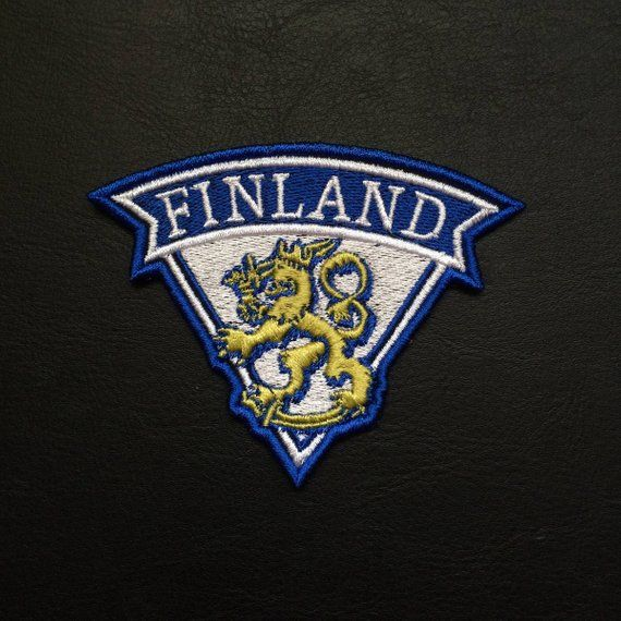 aa7838f5c132 Finland Crest Embroidered Patch National Finland Country Flag Emblem ...