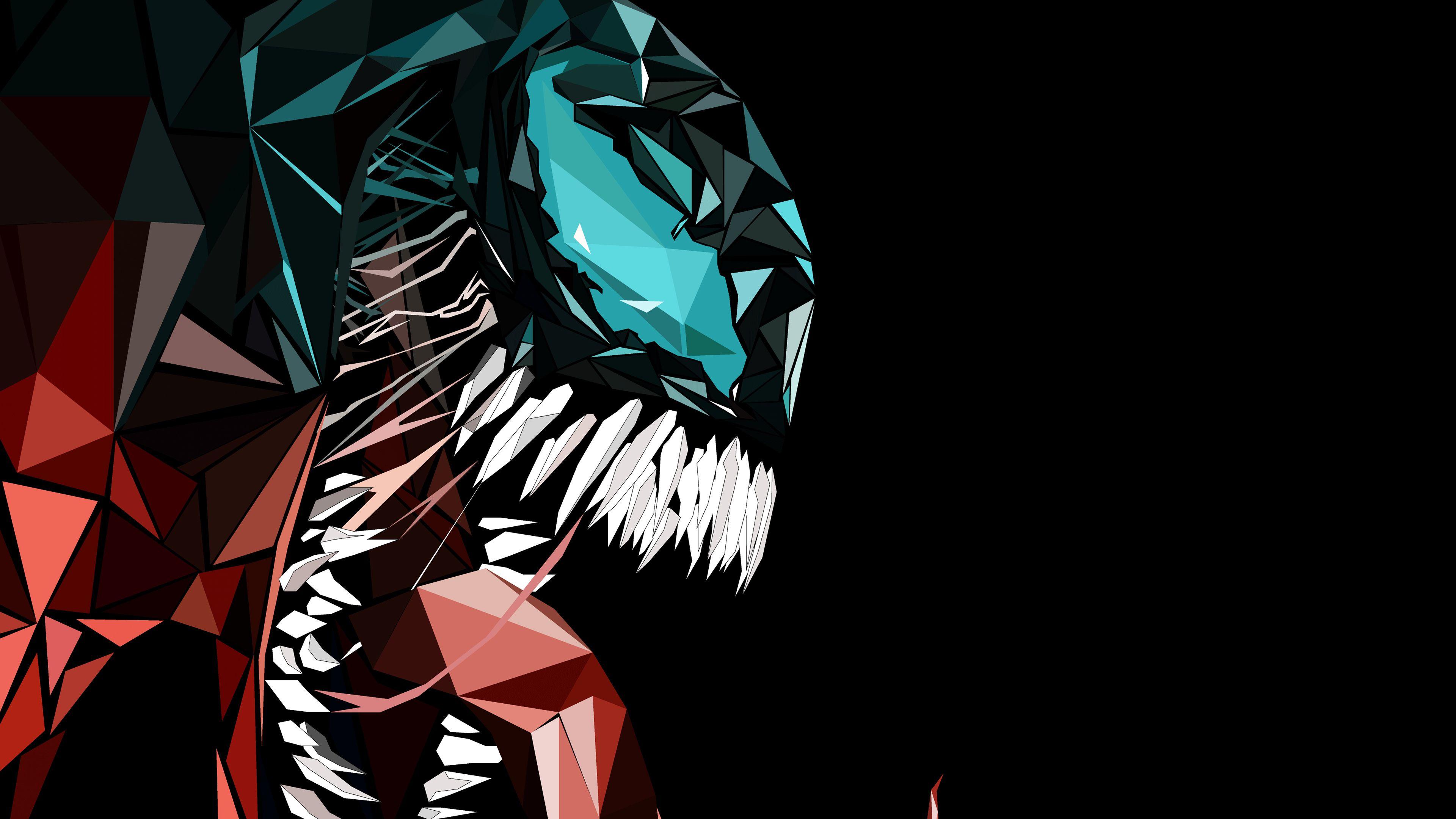 Wallpaper 4k Venom Abstract 4k 4kwallpapers, artwork