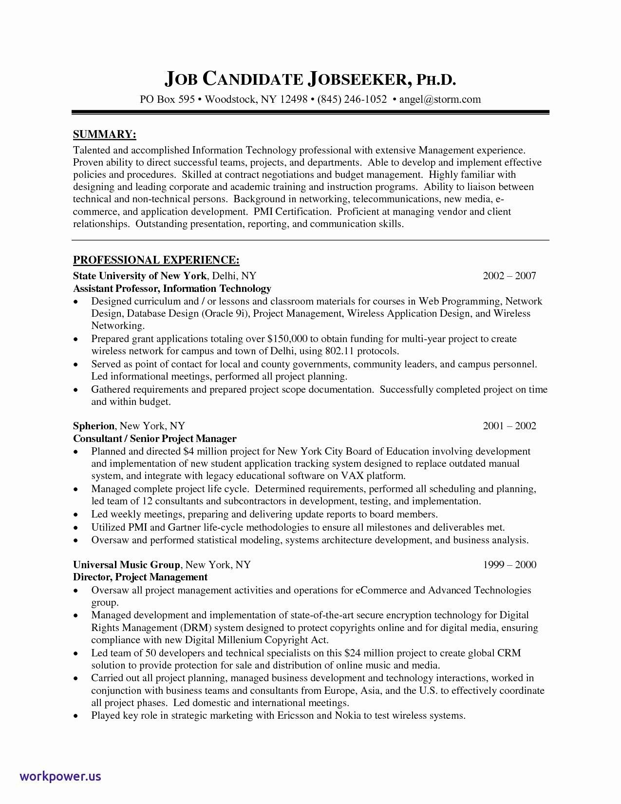 Cv Template Tamu Resume Examples Resume Templates Project Manager Resume