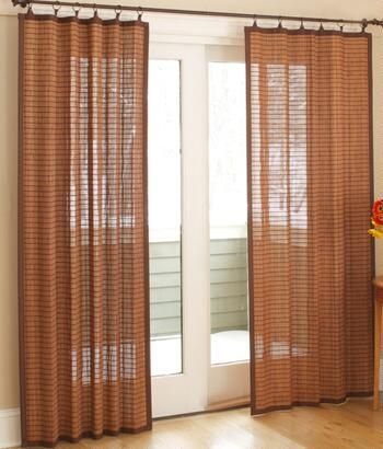 Bamboo Curtains Bamboo Curtain Country Curtains Patio Door