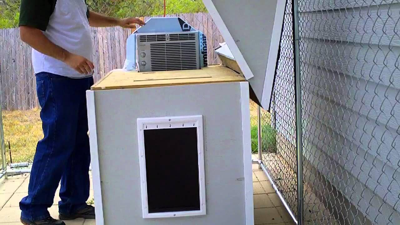 Air Conditioned Dog House Air Conditioned Dog House Dog House Air Conditioner Dog House Diy