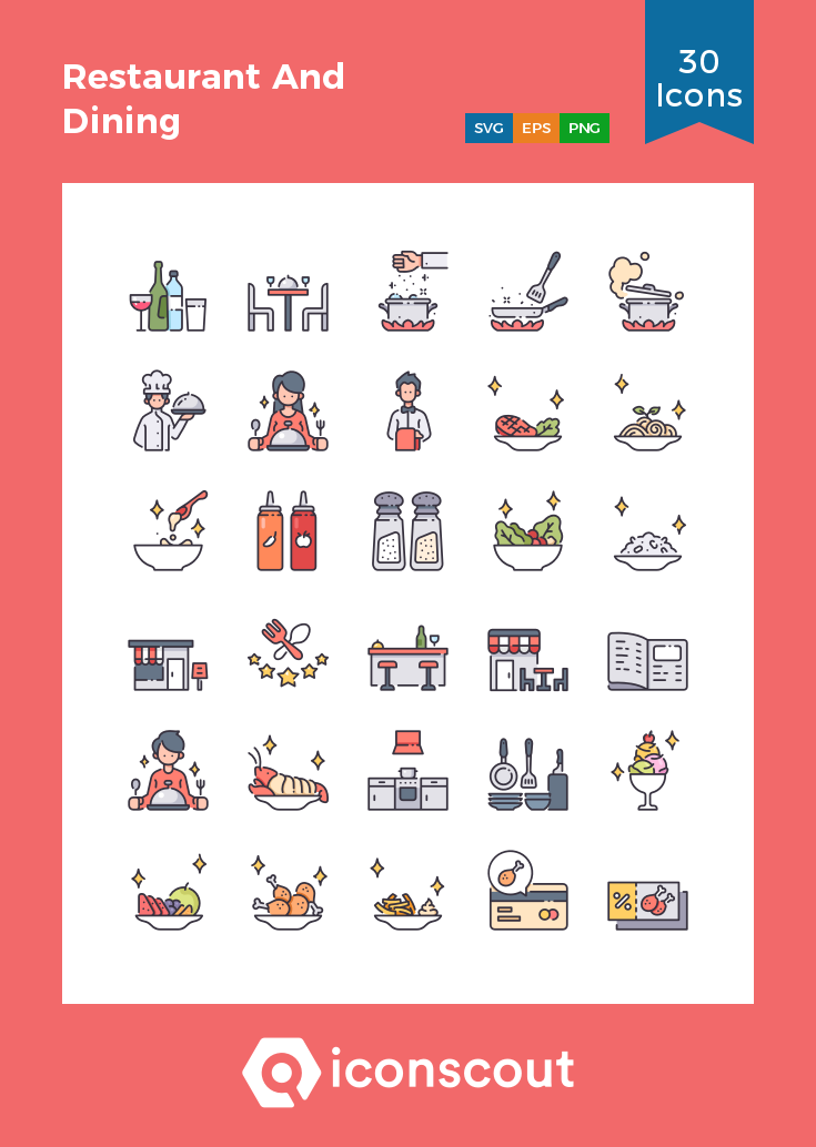 Download Restaurant And Dining Icon Pack Available In Svg Png