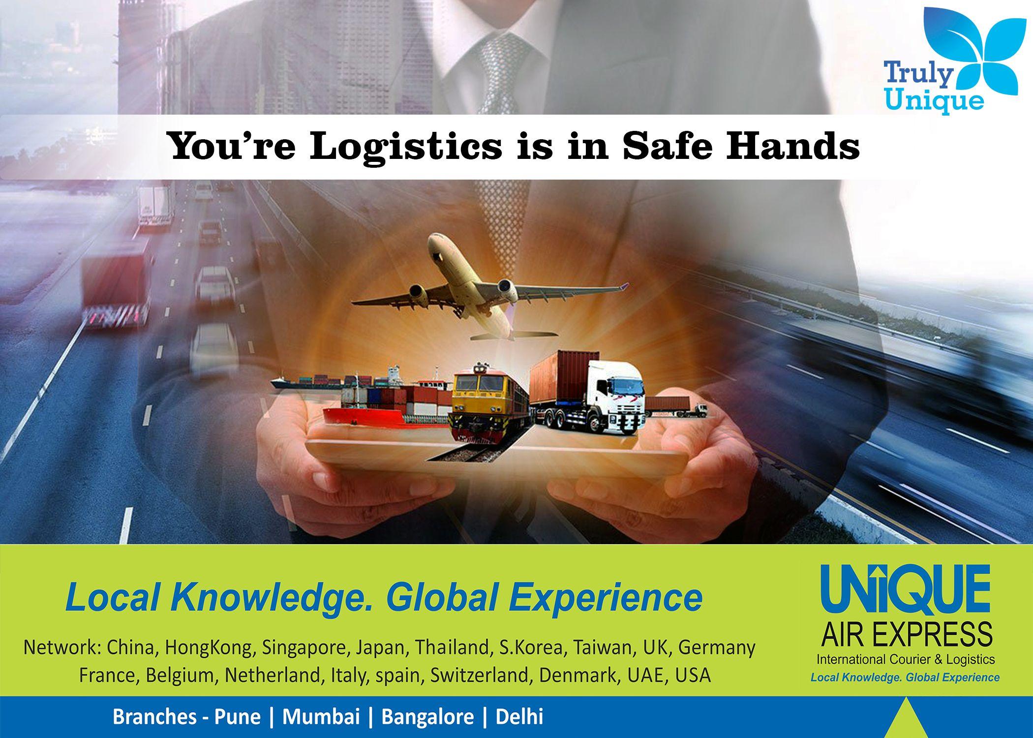 You're Logistics in Safe Hands Logistics, Courier