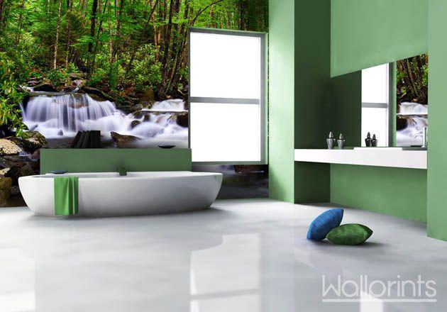 fotobehang badkamer - Google zoeken | Bathroom ideas | Pinterest