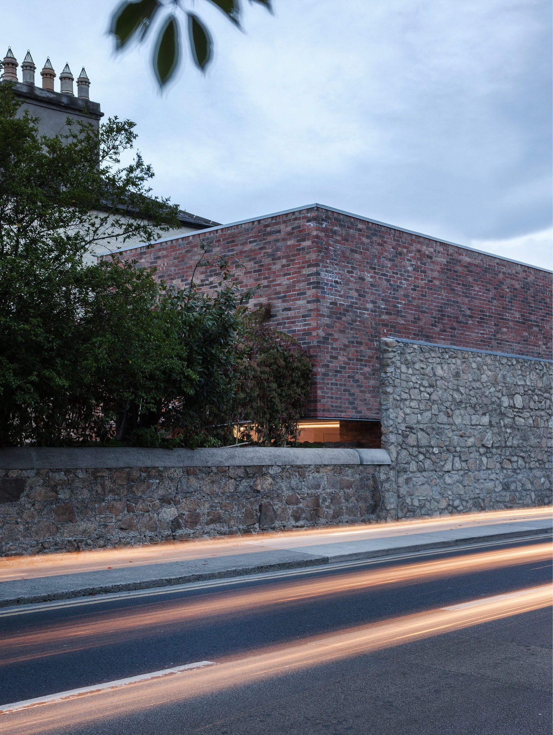 Brick House Addition In Dublin: Alma Road – Inconspicuous Brick House By ODOS Architects