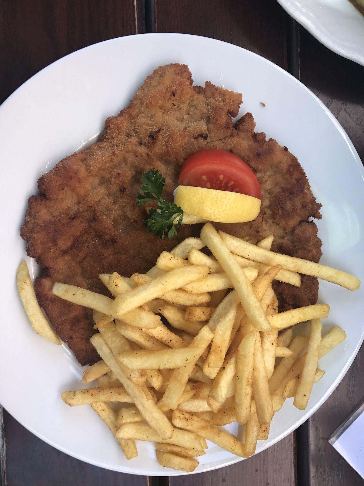 Schnitzel Mit Pommes Kalorien