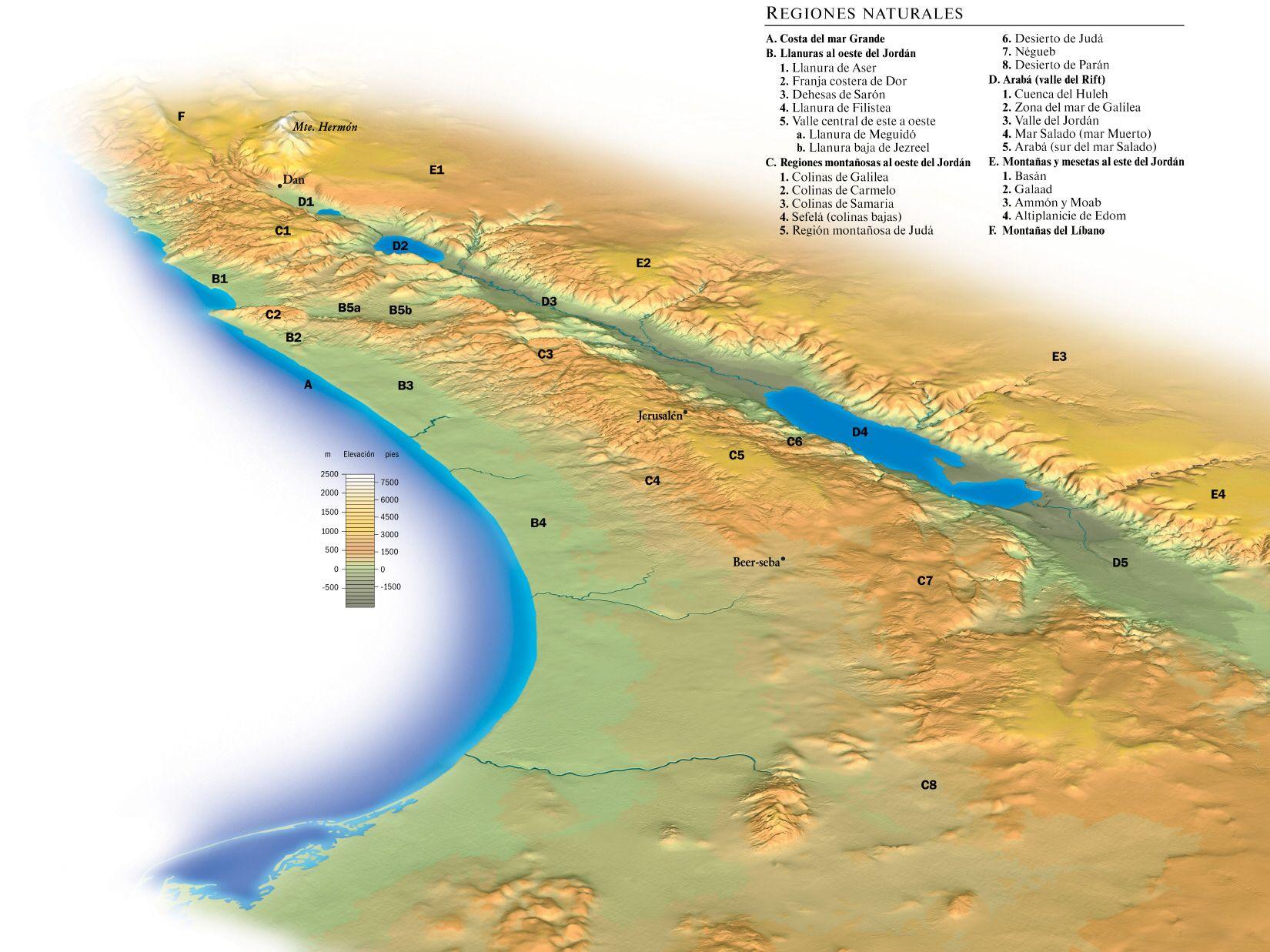 Una Tierra Buena Y Espaciosa Watchtower Online Library Mapa De La Tierra Tierra Prometida Tierra