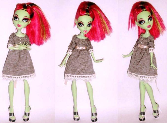 Картинки платьев для куклы монстер хай