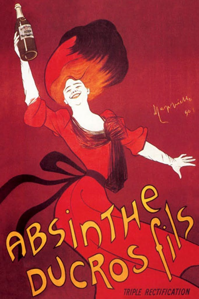 Absinthe Ducros Fils, by Leonetto Cappiello