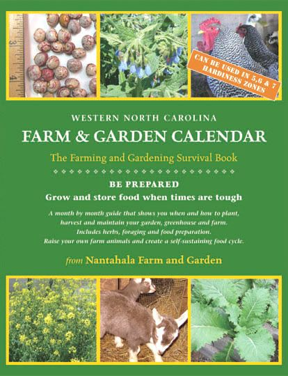 Nantahala Farm In Topton North Carolina Garden Calendar Book