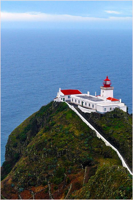 Lighthouse Santa Maria Azores Portugal The Amazing Azores In