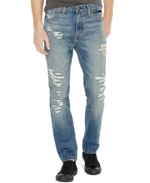 9c3607f06d 511™ Slim Fit Rip and Repair Jeans | Products | Slim fit ripped ...