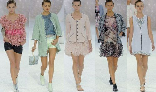 who wouldn't want to feel like a little flower? love the leather shorts w/pink top!