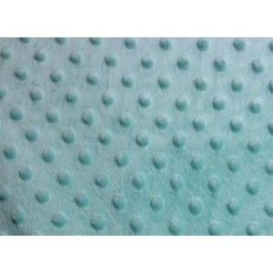 Minky fleece mint - Hotstof - Online stoffen en juwelen - Stoffenwinkel