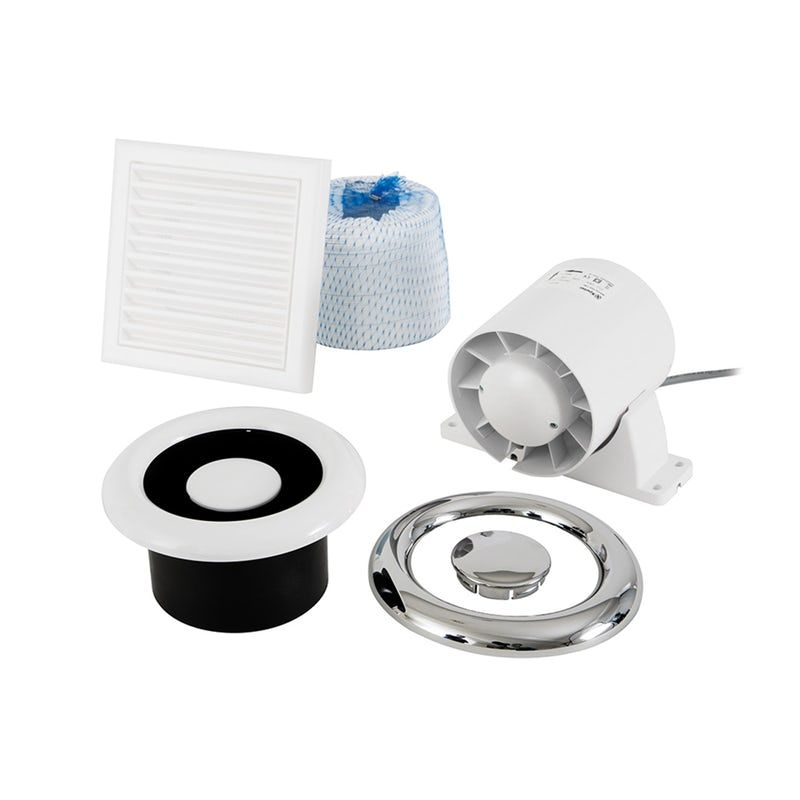 Xpelair Airline Shower Fan Kit Shower Installation Shower Extractor Fan Bathroom Extractor
