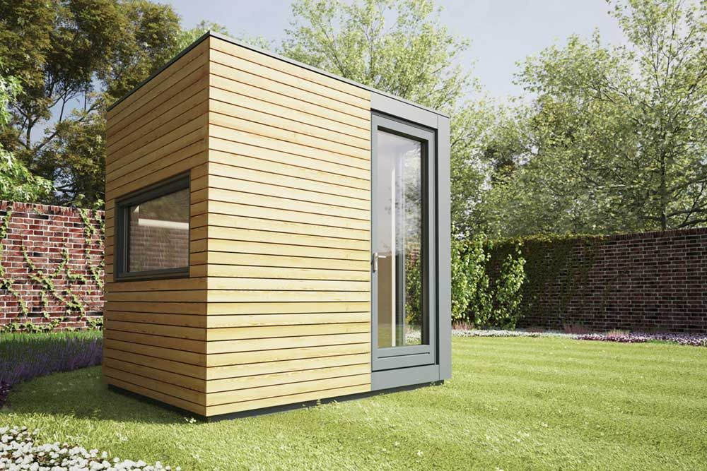Delicieux Home Office Pods. Micro Pod Is A Compact Home Office Away From The Main \
