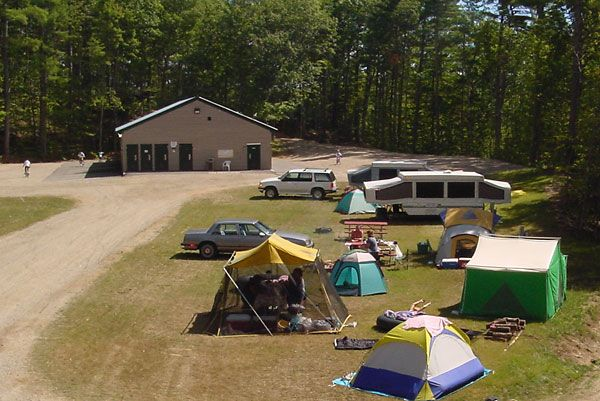 Danforth Bay Camping Amp Rv Resort S Safari Field Perfect
