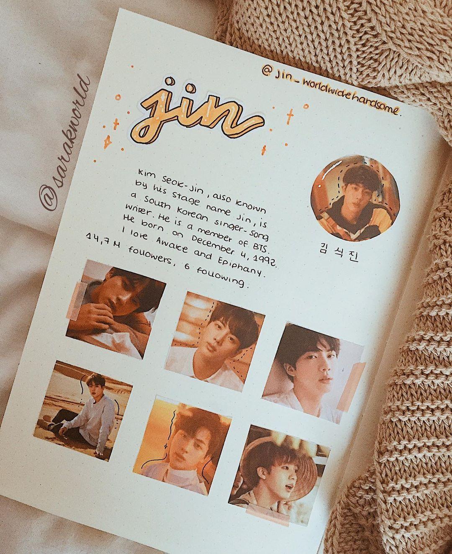 """새라 ♡ On Instagram: """"💛 JIN FEED 💛 ——— Only Jin Was"""