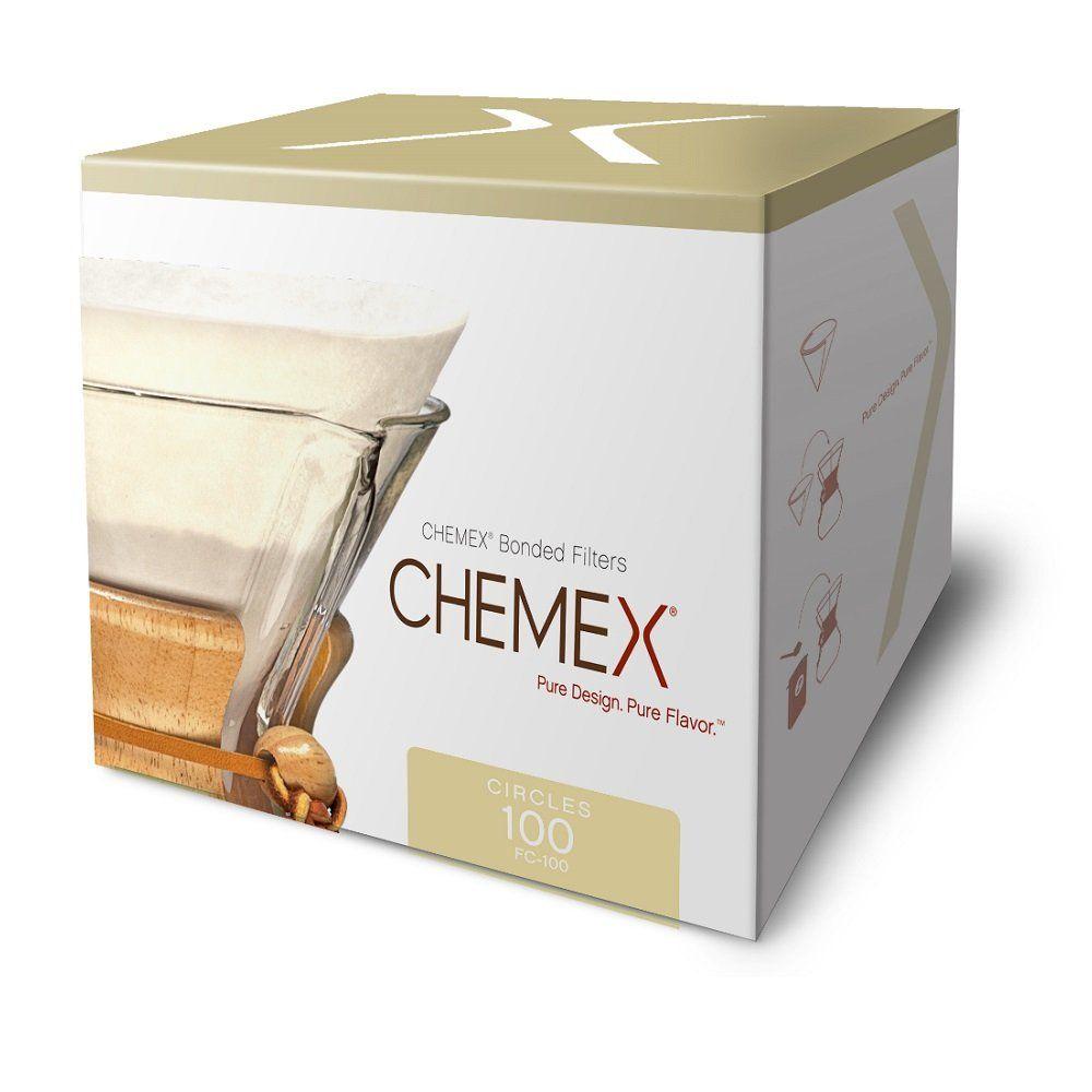 Chemexbondedcoffeefiltercircles in 2020 chemex