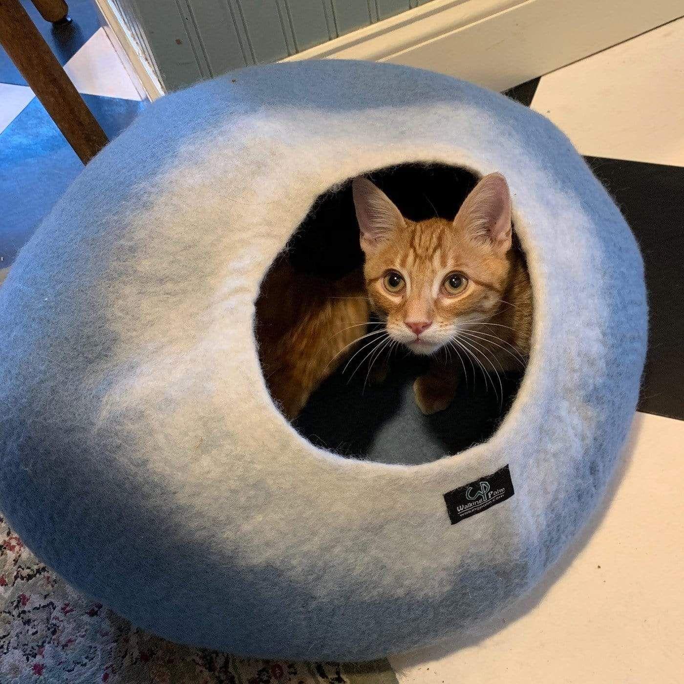 Blue & Turquoise Cat Cave Pet Bed Cat cave