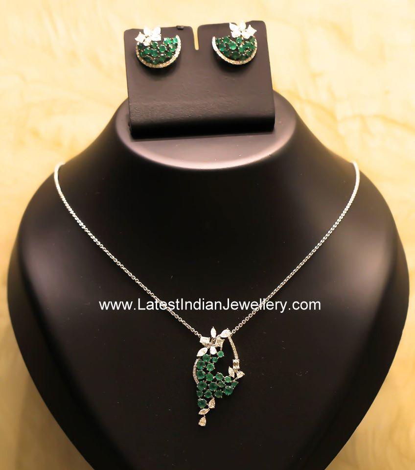 different diamond pendant necklace designs pendant earrings