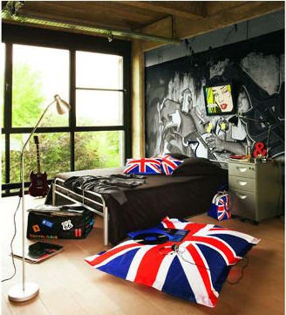 British teen bedroom music fashion pinterest for Cool room stuff