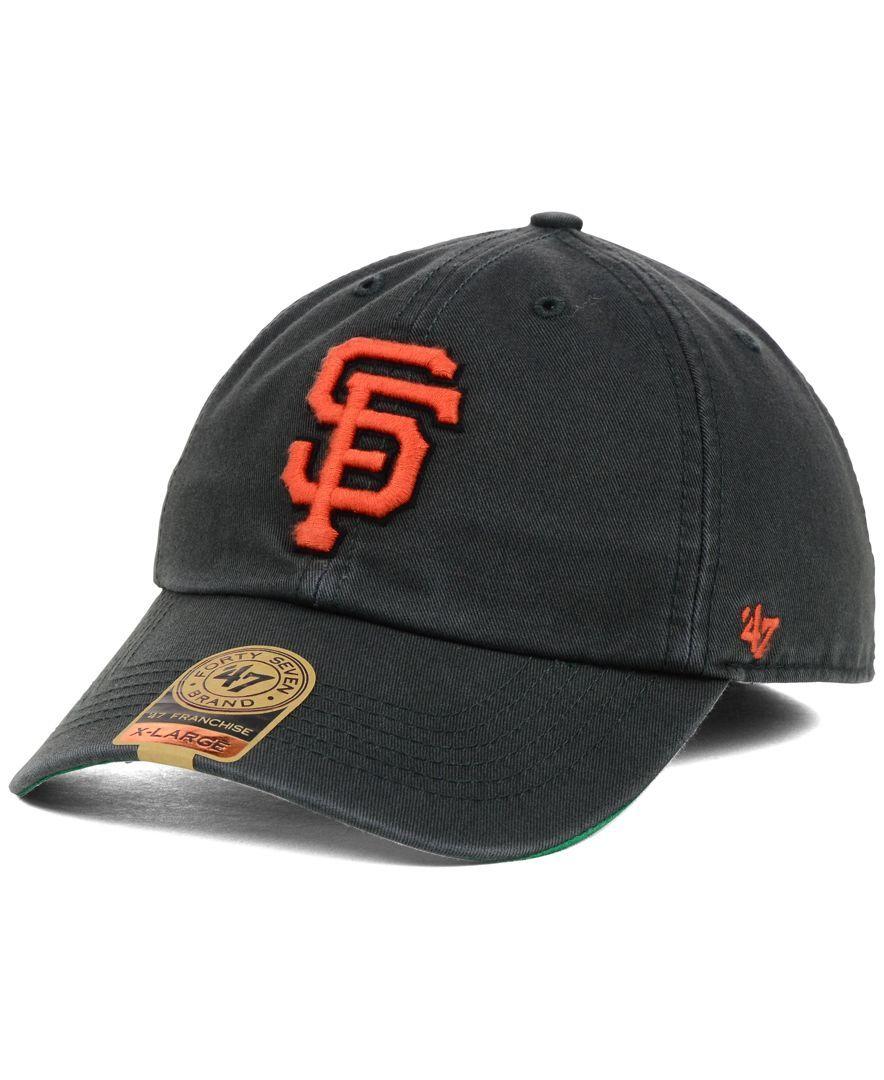270d9b3ee4c5e 47 Brand San Francisco Giants Mlb Hot Corner  47 Franchise Cap ...