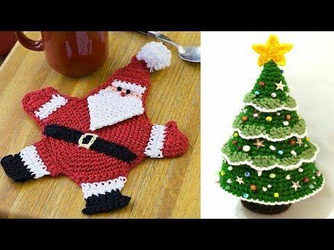 Albero di Natale Uncinetto Tutorial Christmas treeArbol de Navidad