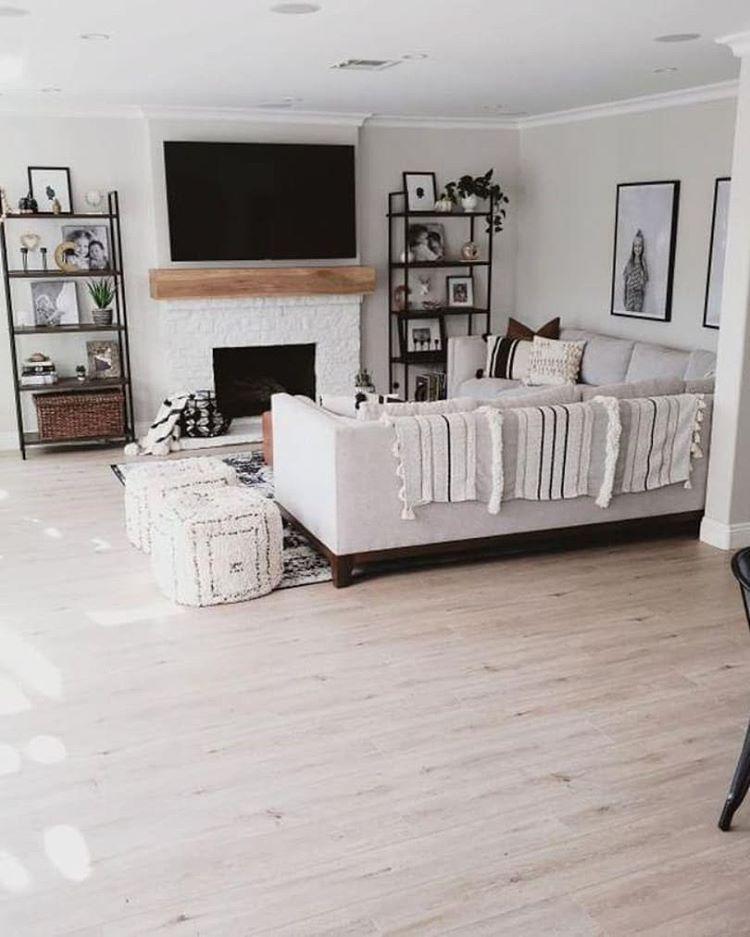 Engineer Prints Boho Living Room Neutral Boho Living Room Black And White Living Room Minimal In 2020 Black And White Living Room Living Room White White Fireplace #white #living #room #with #fireplace