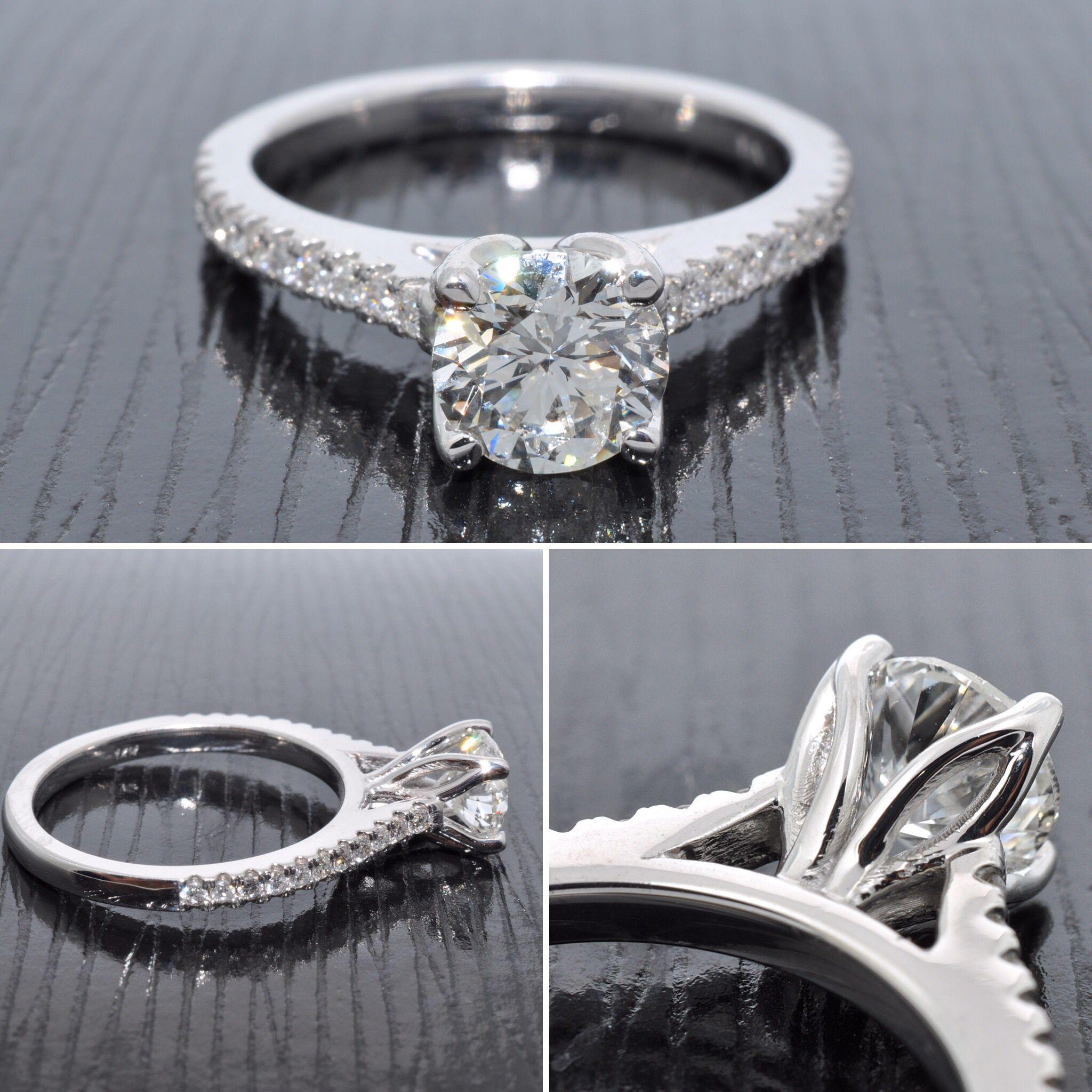 Graziella Custom Made Engagement Rings