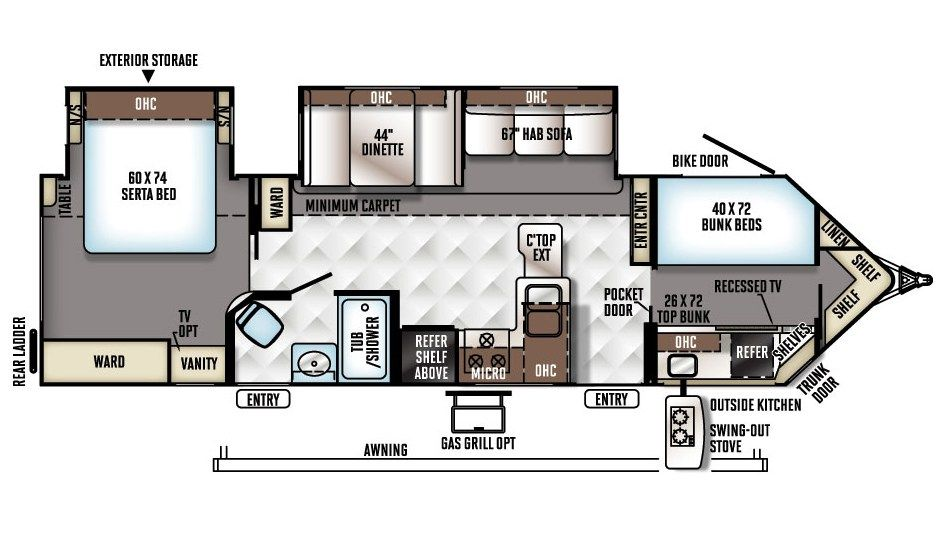 Rvs For Sale Michigan Rv Dealership Hamilton S Rv Camper Flooring Travel Trailer Floor Plans Rv Floor Plans