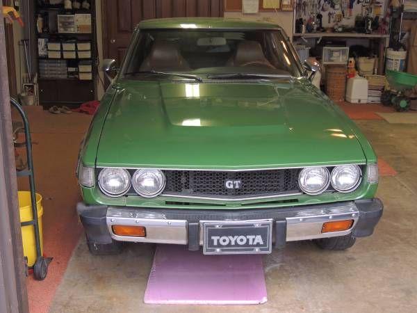 One Owner Original 1977 Toyota Celica GT Liftback